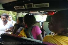 Girl students of Roseau Dominica board our tour van.jpg