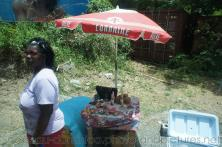 Street vendor next to mountain road in Roseau Dominica.jpg